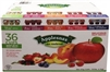 APPLESNAX 100% FRUIT SNACK VARIETY (36 CUPS)