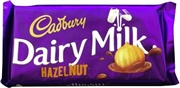 CADBURY HAZELNUT 100g x 24 BARS / BOX