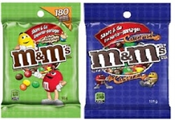 M&M'S CRISPY or CARAMEL 12 PACKS