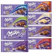 MILKA CHOCOLATE SINGLE BARS