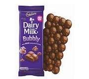 CADBURY BUBBLY CHOCOLATE BAR 90g