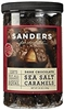 SANDERS DARK CHOCOLATE COVERED CARAMELS WITH SEA SALT