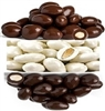 CHOCOLATE AND YOGURT COVERED ALMONDS 11.34 KG BOX