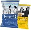 TYRRELLS GOURMET CHIPS 150g BAGS (FROM THE UK)