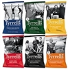 TYRRELLS GOURMET CHIPS 12 x 40g SINGLE SERVE BAGS