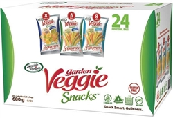 SENSIBLE PORTIONS VEGGIE STRAWS (24 ASSORTED SINGLES)