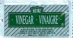 HEINZ WHITE VINEGAR SINGLE PACKS (500)