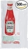 HEINZ KETCHUP SINGLE PACKS (500)