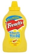 FRENCHS YELLOW MUSTARD SQUEEZE BOTTLE 400ml