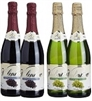 SPARKLING WINE ZERO ALCOHOL 12 BOTTLES / CASE