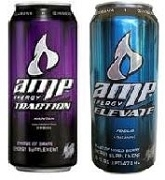 AMP ENERGY DRINK 12 x 473ml / CASE