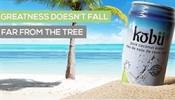 KOBU COCONUT WATER 24 CANS/CASE