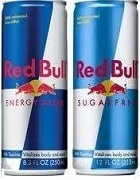 RED BULL ENERGY DRINK 24 x 250ml CANS / CASE