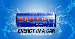 BULLET ENERGY DRINK 24 CANS / CASE