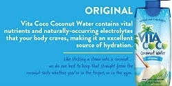 VITA COCO COCONUT WATER 330ML TETRA PACK (12)