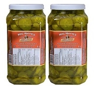 MRS WHYTES SLICED KOSHER DILL PICKLES 4L JUGS (2)