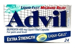 ADVIL LIQUID GELS EXTRA STRENGTH 24 x 400mg
