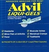 ADVIL LIQUID GELS BOX 115 x 200mg