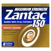 ZANTAC EXTRA STRENGTH 8 x 150mg