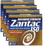ZANTAC EXTRA STRENGTH 8 x 150mg (6)