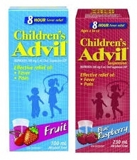 "ADVIL ""CHILDRENS"" 100 ml BOTTLE"