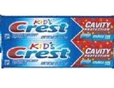 CREST KIDS TOOTHPASTE 2 PACK