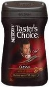 TASTERS CHOICE INSTANT CLASSIQUE 150g (12)