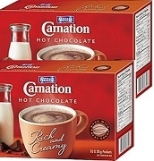 CARNATION PLAIN HOT CHOCOLATE 6 BOXES / CASE