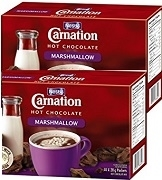 CARNATION MARSHMALLOW HOT CHOCOLATE 6 BOXES / CASE