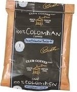 CLUB 100% COLOMBIAN GROUND PACKETS (128 x 2.5 oz sachets)