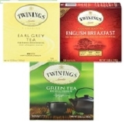 TWININGS TEA 50 BAGS / BOX