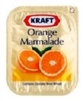 KRAFT ORANGE MARMELADE or PURE GRAPE JELLY SINGLES (140)