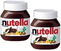 NUTELLA 2 x 1 KILO JARS