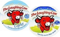 LAUGHING COW CHEESE LIGHT OR REGULAR  32  PORTIONS.