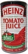 HEINZ TOMATO JUICE 12 x LARGE 1.36L CANS