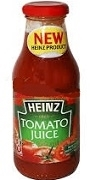 HEINZ TOMATO JUICE BOTTLE 750ml