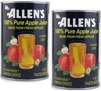 ALLENS APPLE JUICE 12 x 1.05ml / CASE