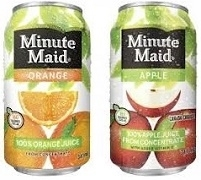 MINUTE MAID CANS 12 x 341ml / CASE