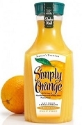 MINUTE MAID SIMPLY ORANGE 2.63L BOTTLE