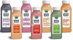 HAPPY PLANET ORGANIC SMOOTHIES (KOSHER) (VEGAN) 325ml BOTTLES (6)