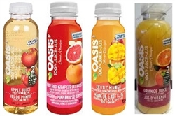 OASIS ORGANIC JUICE 15 x 355ml BOTTLES