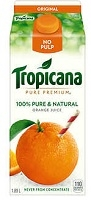 TROPICANA OJ 'REFRIDGERATED' 1.89 LITRE CONTAINER