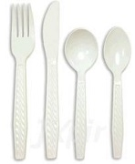TOUCH CUTLERY PLASTIC WHITE (1000)