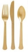PREMIUM  (STRONGER) PLASTIC COLOURED CUTLERY 240/CASE (MATCH KC061)