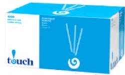 "TOUCH STIR STICKS WOOD 4 1/2"" and 7"""