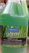 "EFFECLEAN ""GREEN"" FLOOR CLEANER 4 x 4L JUGS"