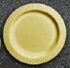 "PLASTIC HEAVIER DUTY COLOURED PLATES  9"" x 200"