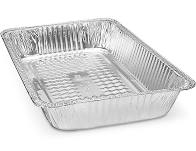 FOIL STEAM TRAYS FULL DEEP SIZE (5 PACK)