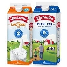 LACTANTIA MILK 2 LITRE CARTONS
