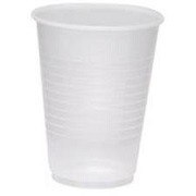 CUPS WHITE PLASTIC 5oz (2,500)